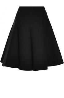 Шерстяная пышная юбка-миди Alaia
