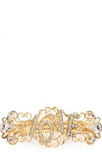 Заколка со стразами Dolce & Gabbana