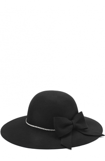 Шляпа с бантом и стразами Monnalisa