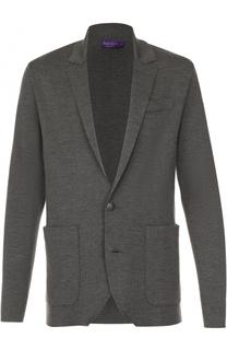 Шерстяной кардиган с накладными карманами Ralph Lauren
