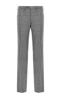Шерстяные брюки прямого кроя Germano