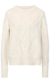 Пуловер фактурной вязки с круглым вырезом Isabel Marant