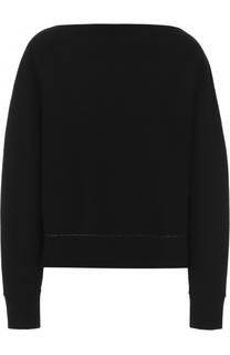 Кашемировый пуловер с V-образным вырезом Proenza Schouler