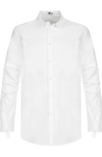 Удлиненная хлопковая рубашка Lost&Found Lost&Found