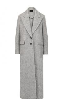 Удлиненное шерстяное пальто на двух пуговицах Isabel Marant