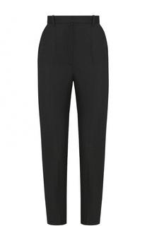 Шерстяные укороченные брюки со стрелками Alexander McQueen