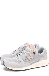 Комбинированные кроссовки 530 на шнуровке New Balance