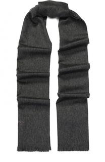 Кашемировый шарф с необработанным краем BOSS