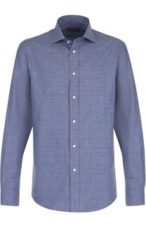 Хлопковая рубашка с принтом Ralph Lauren