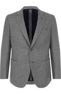 Кашемировый однобортный пиджак Brioni