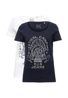 Комплект футболок 2 шт. H.I.S H.I.S.