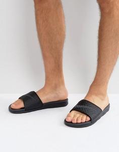 Черные шлепанцы Nike Benassi 705474-091 - Черный