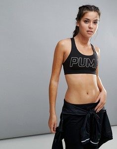 Черный бюстгальтер Puma Powershape Forever - Черный