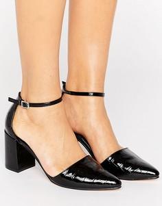 Туфли на блочном каблуке Truffle Collection - Черный
