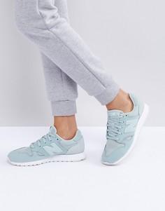 Замшевые кроссовки New Balance 520 - Зеленый