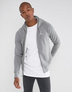 Худи серого цвета Nike Jordan Flight 823064-091 - Серый