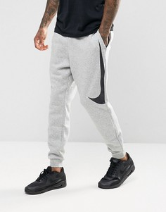 Серые джоггеры с логотипом Nike Hybrid 861720-063 - Серый
