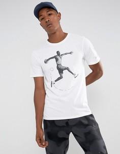 Белая футболка Nike Jordan AJ5 864923-100 - Белый