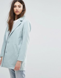 Oversize-пальто Noisy May - Синий