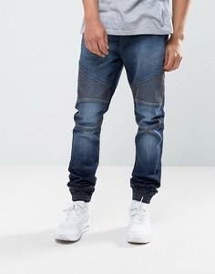Синие джинсы в спортивном стиле Loyalty and Faith Garrett - Синий