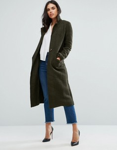 Пальто бойфренда Zibi London - Зеленый