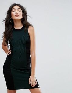Облегающее платье Lipsy - Зеленый