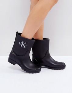 Резиновые полусапожки Calvin Klein Jeans Philippa - Черный