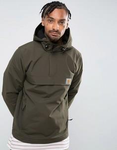 Куртка через голову цвета хаки Carhartt WIP Nimbus - Темно-синий