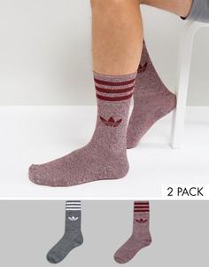2 пары носков adidas Originals BQ6018 - Мульти