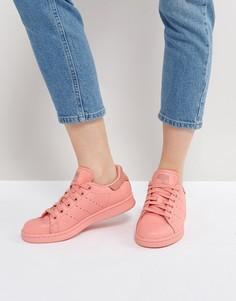 Коралловые кроссовки adidas Originals Stan Smith - Оранжевый