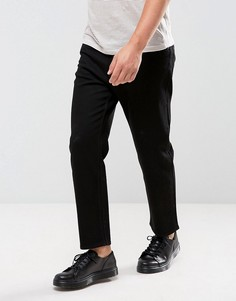 Насыщенно-черные джинсы в стиле 90-х Cheap Monday - Черный
