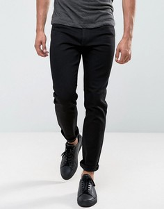 Черные зауженные джинсы Cheap Monday Audiac Regular - Черный