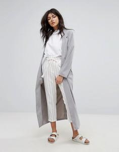 Длинное пальто Native Youth - Серый