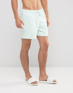 Синие шорты для плавания Abercrombie & Fitch 5 - Синий