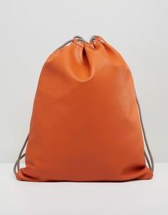 Темно-оранжевый рюкзак на шнурке эксклюзивно для Mi-Pac - Оранжевый