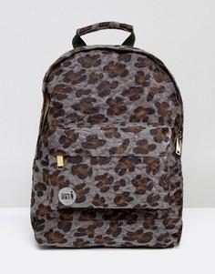 Рюкзак с эффектом шерсти пони и леопардовым принтом Mi-Pac - Мульти
