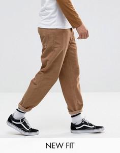 Светло-коричневые вельветовые брюки ASOS - Рыжий