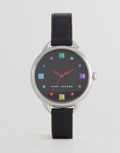 Часы с черным кожаным ремешком Marc Jacobs MJ1589 Betty - Черный
