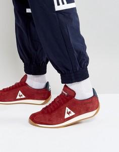 Красные кроссовки из нубука Le Coq Sportif Quartz 1720087 - Красный
