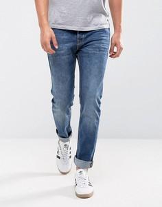 Синие узкие джинсы Only & Sons - Синий