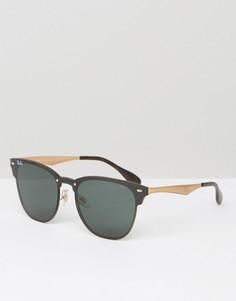 Солнцезащитные очки-клабмастеры Ray-Ban 0RB3576N - Черный