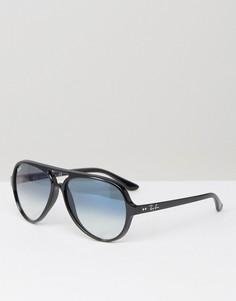 Солнцезащитные очки-авиаторы Ray-Ban 0RB4125 - Черный