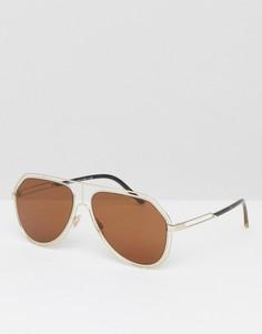Солнцезащитные очки-авиаторы Dolce & Gabbana - Очистить