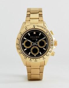 Золотистые часы с хронографом Reclaimed Vintage эксклюзивно для ASOS - Золотой