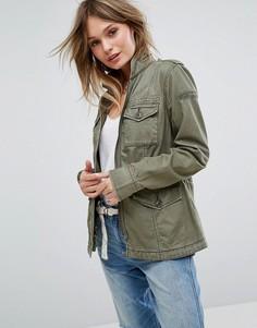 Куртка-рубашка Abercrombie & Fitch - Зеленый