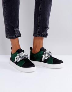 Декорированные кроссовки ASOS DESERT ROSE - Мульти
