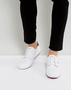 Белые кожаные кроссовки Tommy Hilfiger Howell - Белый