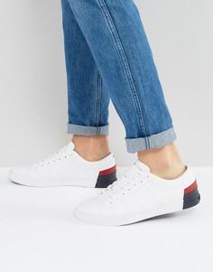 Белые кожаные кроссовки Tommy Hilfiger Jay - Черный