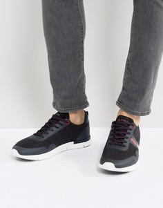 Темно-синие кроссовки с логотипом Tommy Hilfiger Tobias - Темно-синий