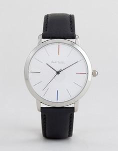 Часы с кожаным ремешком Paul Smith P10051 MA, 41 мм - Черный